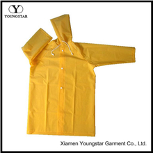 YS-6029 Children's Yellow Toddlers Raincoat with Hood