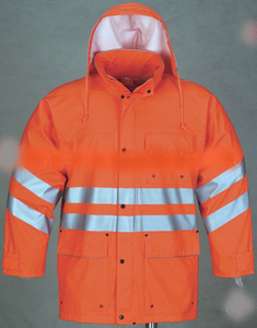 PU Rainsuit with Reflective Strip